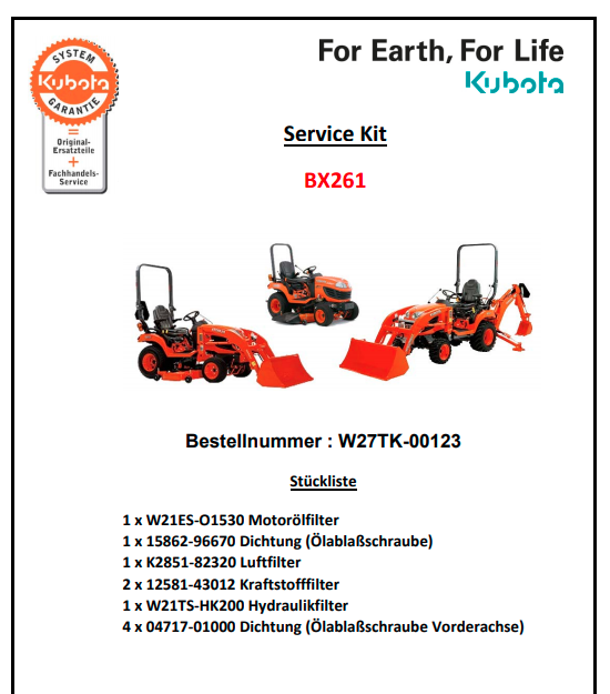 servicekitBX261