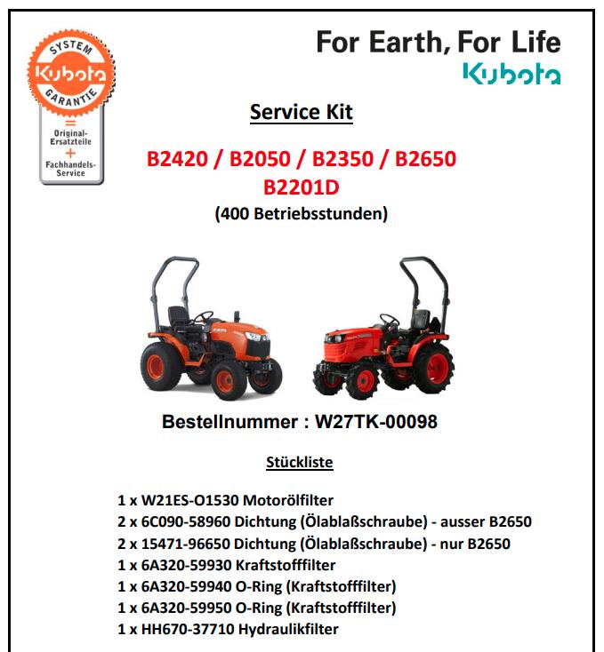 servicekitb2201D